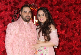 Mohit Bharatiya  Hosts Grand Engagement Ceremony For His Brother In Law Rishabh With  Ridhima