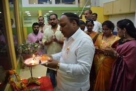 Mary Ann English High School Celebrates Diwali 2019 With Ashok Singh Trusty And Business Tycoon