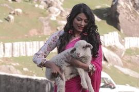 Anjali Pandey Making Her Debut Opp Hiten Tejwani In Rakesh Sawant's Coming Film  Mudda 370 J&K