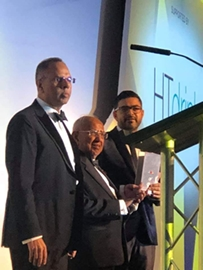 HT Drinks Wins best wholesale depot of the year Award of the Asian Trader Awards 2019