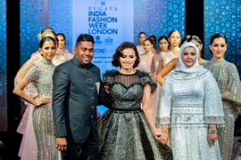 Designer Rehan Ahmad Baley Showcased His Latest Collection At A Show In London