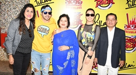 The unveiling of the festival Alegría – The Festival of Joy by the famous celebrities of Bollywood Varun Dhawan and Shraddha Kapoor at Pillai Campus