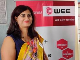 WEE-Pune Head Sanchali Iyer Organized WEE-Clean Donation Drive
