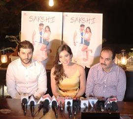 C. R. Films Presents POSTER  LAUNCH of  HINDI FILM SAKSHI