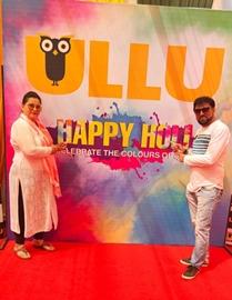 ULLU App's 2nd Year Grand Holi Bash The colourful carnival