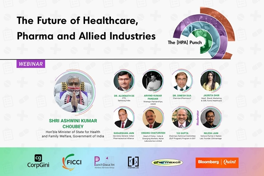 India Will Serve As The Pharmacy Of The World  We Will Be Truly ATMANIRBHAR In Pharma And Healthcare Urges Best Brains To Work Together For Humanity On Priority – Ashwini Kumar Choubey Minister Of State For Health And Family Welfare