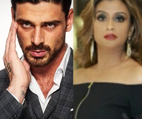 Hollywood Star Michele Morrone Gives His Best Wishes To Dubai Filmmaker N Actress Zenofar Fathima