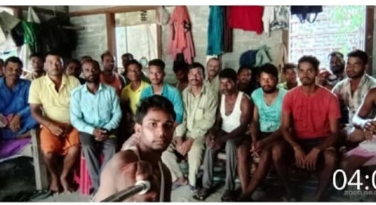 Jharkhand Seva Sangh's President Gives Smiles On The Face Of The Workers Of Jharkhand Trapped Abroad
