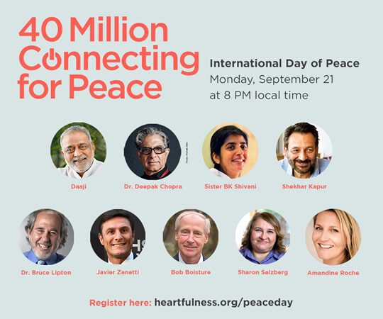 Find Peace On September 21 At 8 pm