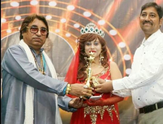 Miss Glamourface World-INDIA  Angel Tetarbe Recieved LEGEND  DADASAHEB  PHALKE  Award 2020