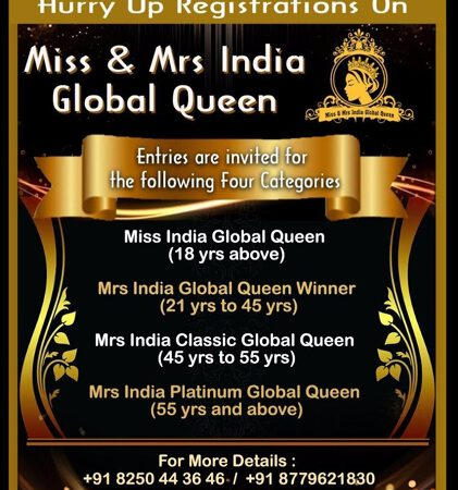 Be The QUEEN…Pageant Calling – Register Today