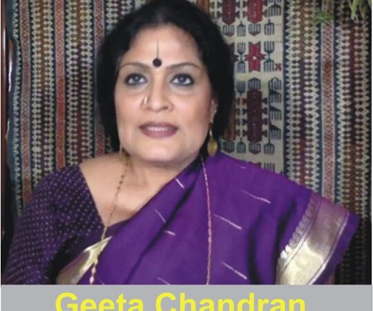 Dance And Art Can Change Social Issues And Transform People – Geeta Chandran