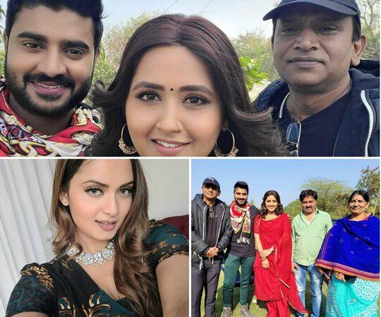 Kajal Raghavani And Neelam Giri will be seen opposite Pradeep Pandey Chintu in two films from Worldwide Records