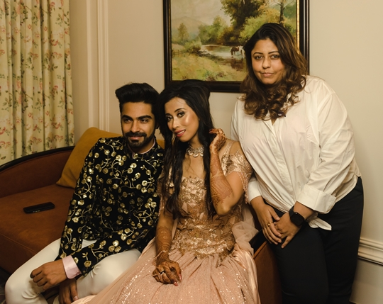 TV actor Paras Madaan  and Soumita Das who heads a production house got engaged on March 7th in a lavish ceremony in Siliguri
