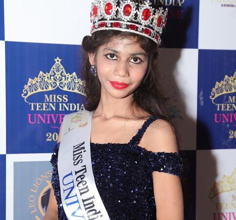 Sneha Winner Of  Miss Teen India Universe 2020  Universal A Virtual Edition Presented By Ashwin Rajput