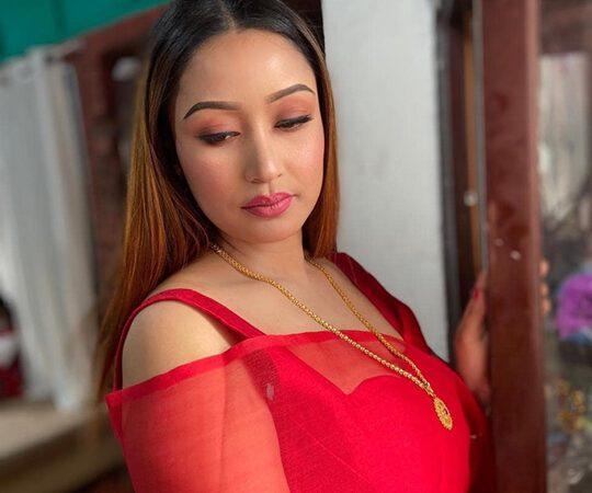 NIRUPAMA LAISHRAM  from Imphal Manipur  Multi-Talented  Recieved  Iconic International Women Award  2021by Ngo IAWA and Amarcine Production